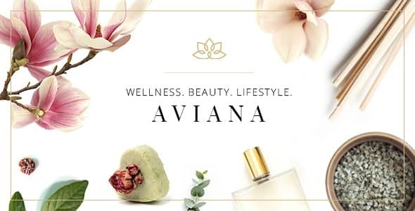 Tema Aviana - Template WordPress