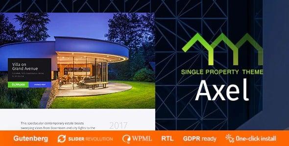 Tema Axel - Template WordPress
