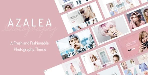 Tema Azalea - Template WordPress