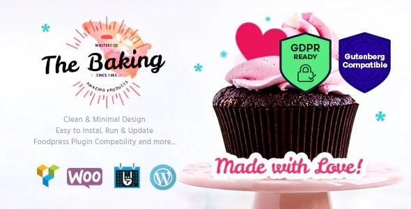 Tema Bakery themerex - Template WordPress