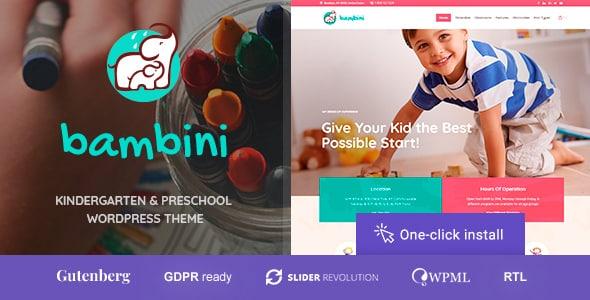 Tema Bambini - Template WordPress