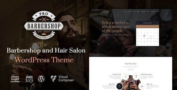 Tema Barbershop - Template WordPress