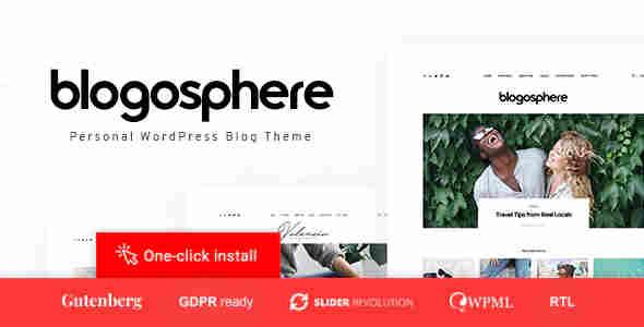 Tema Blogosphere - Template WordPress