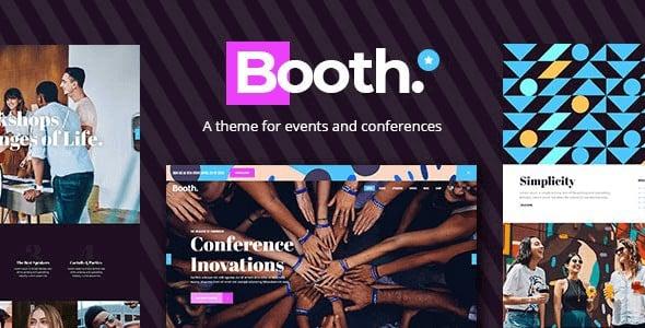 Tema Booth - Template WordPress