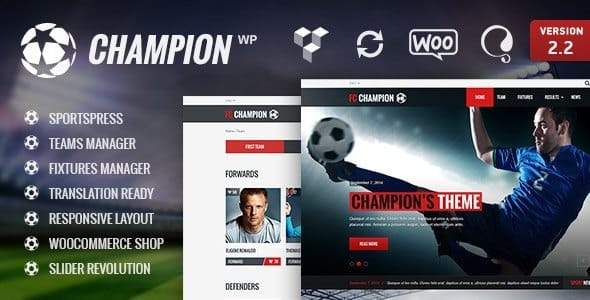 Tema Champion - Template WordPress
