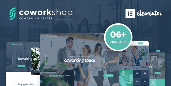 Tema Coworkshop - Template WordPress