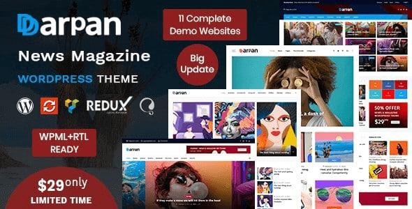Tema Darpan - Template WordPress