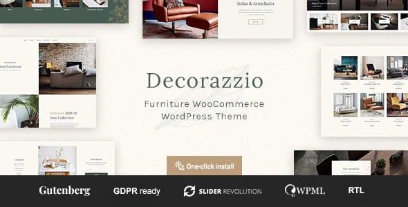 Tema Decorazzio - Template WordPress