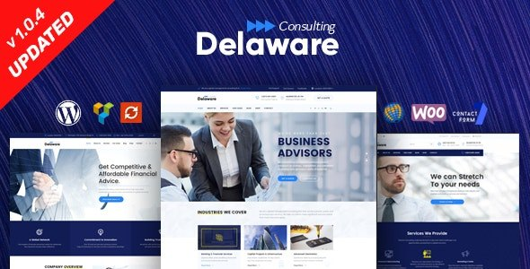 Tema Delaware SteelThemes - Template WordPress