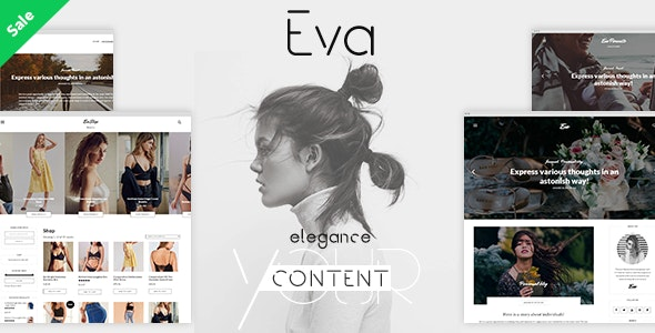 Tema Eva bohemiansthemes - Template WordPress