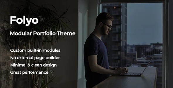 Tema Folyo - Template WordPress