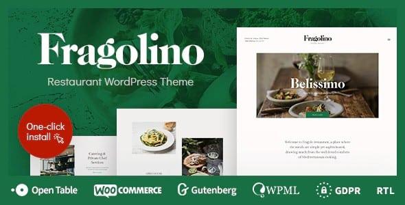 Tema Fragolino - Template WordPress