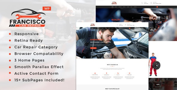 Tema Francisco - Template WordPress