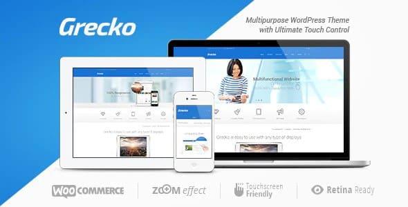 Tema Grecko - Template WordPress