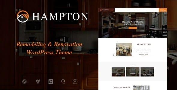 Tema Hampton - Template WordPress