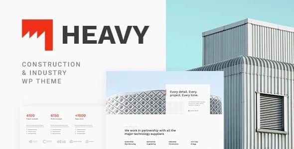 Tema Heavy - Template WordPress