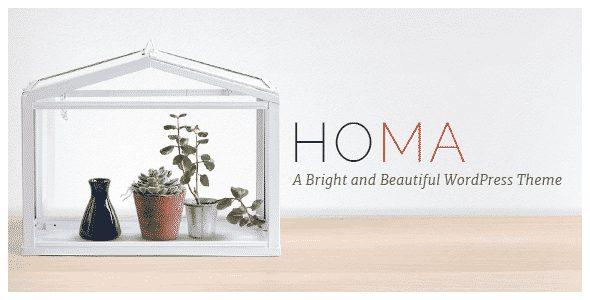 Tema Homa - Template WordPress