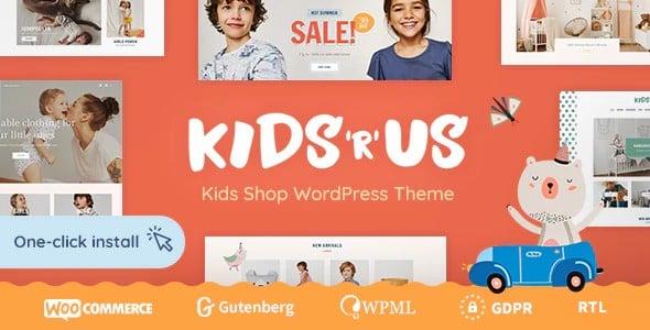 Tema Kids R Us - Template WordPress