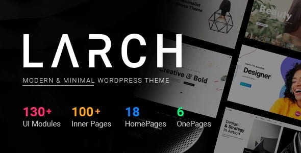 Tema Larch - Template WordPress
