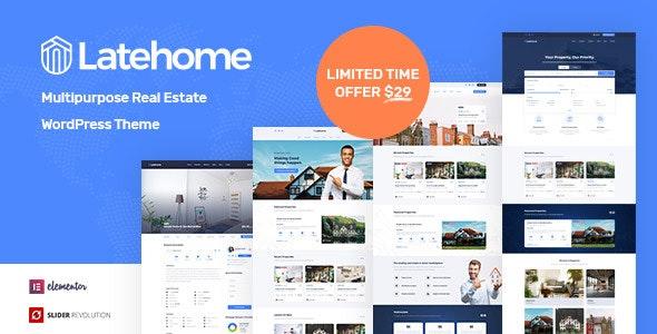 Tema Latehome - Template WordPress