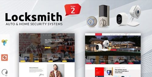 Tema Locksmith Mymoun - Template WordPress