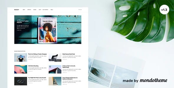 Tema Magsy - Template WordPress
