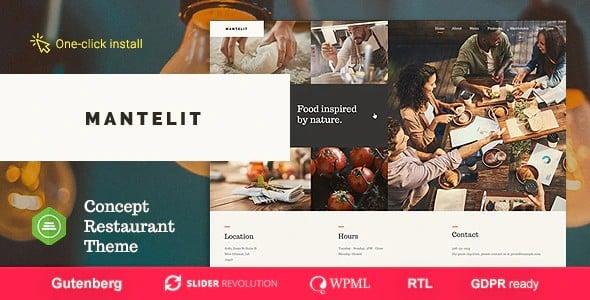 Tema Mantelit - Template WordPress