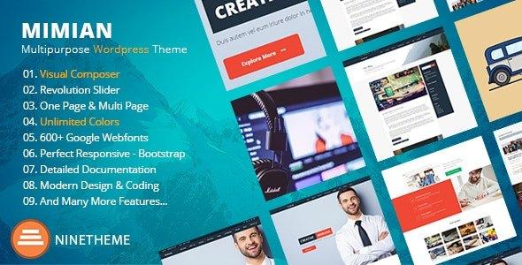 Tema Mimian - Template WordPress