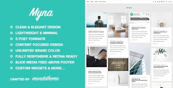 Tema Myna - Template WordPress