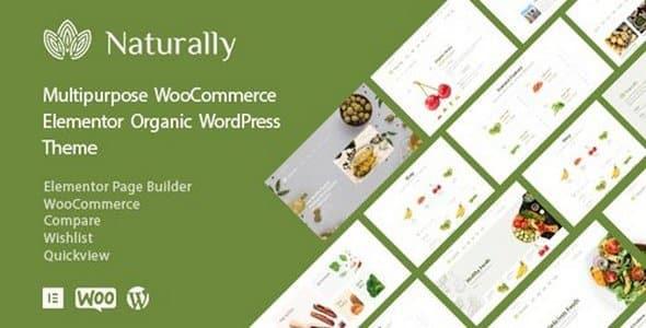 Tema Naturally - Template WordPress
