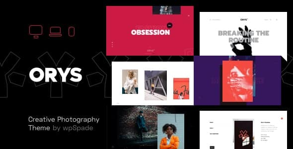 Tema Orys - Template WordPress