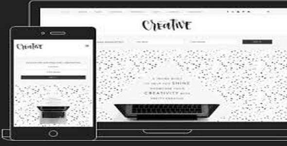 Tema Pretty Creative - Template WordPress