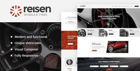 Tema Reisen - Template WordPress
