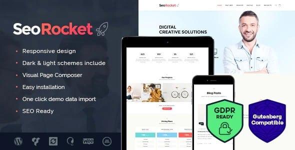 Tema SEo Rocket - Template WordPress