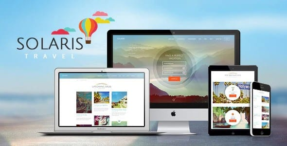 Tema Solaris - Template WordPress