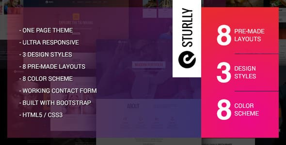 Tema Sturlly - WordPress