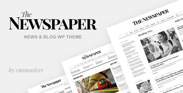 Tema The Newspaper - Template WordPress