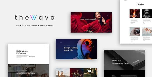 Tema The Wavo - Template WordPress