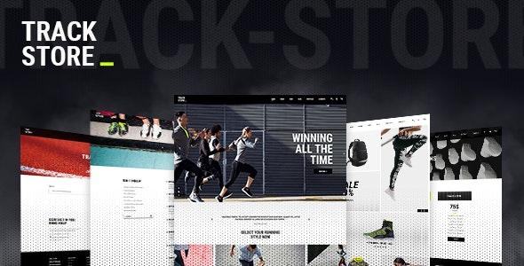 Tema Trackstore - Template WordPress