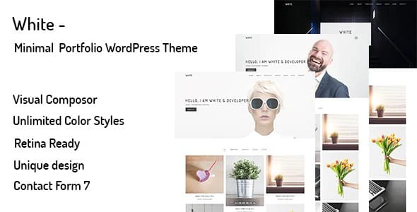 Tema White - Template WordPress