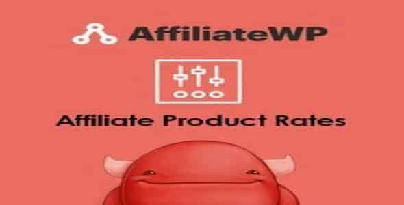 Plugin AffiliateWp Affiliate Product Rates - WordPress