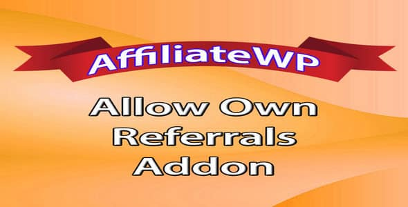 Plugin AffiliateWp Allow Own Referrals - WordPress