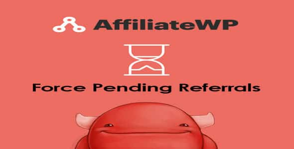 Plugin AffiliateWp Force Pending Referrals