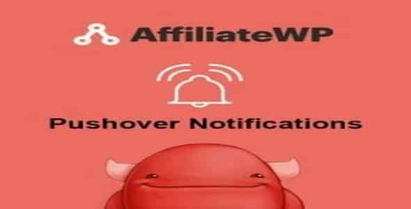 Plugin AffiliateWp Pushover Notifications - WordPress