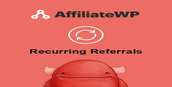 Plugin AffiliateWp Recurring Referrals - WordPress