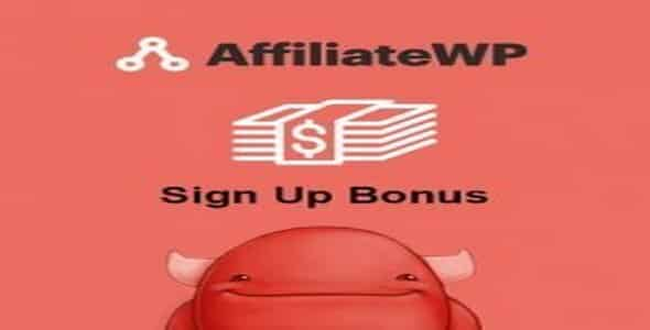 Plugin AffiliateWp Sign Up Bonus - WordPress
