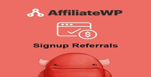 Plugin AffiliateWp SignUp Referrals - WordPress