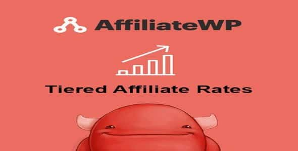 Plugin AffiliateWp Tiered Affiliate Rates - WordPress