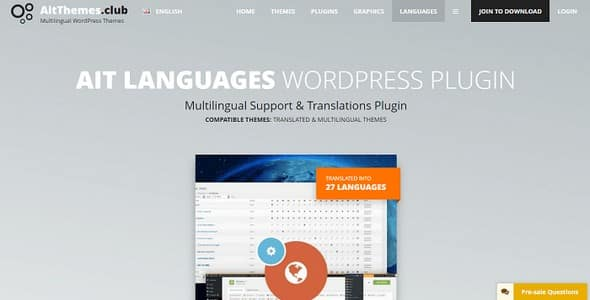 Plugin Ait Languages - WordPress