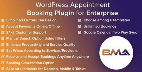 Plugin Bma - WordPress